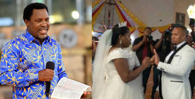 Prophet TB Joshua's Daughter Gets Married To The Same Man For The Third Time