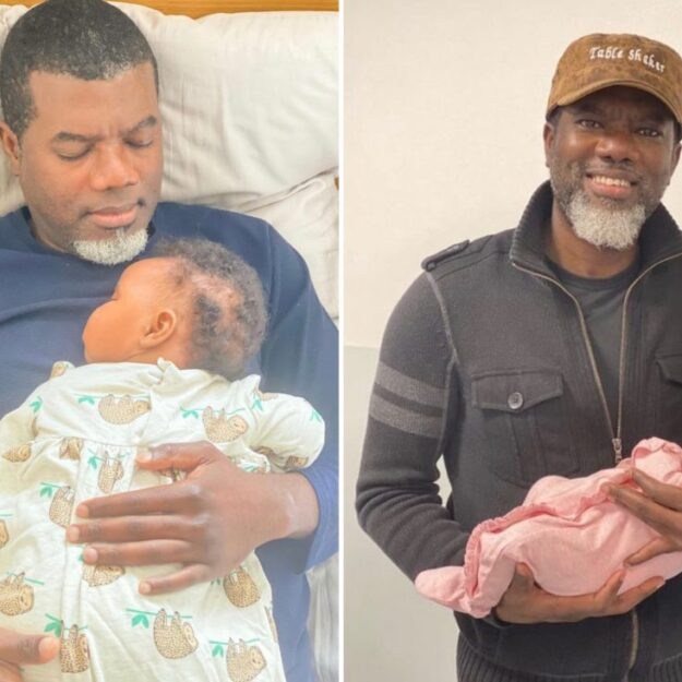 Reno Omokri Abandons Wife In America, Welcomes New Baby With UK Based Lover