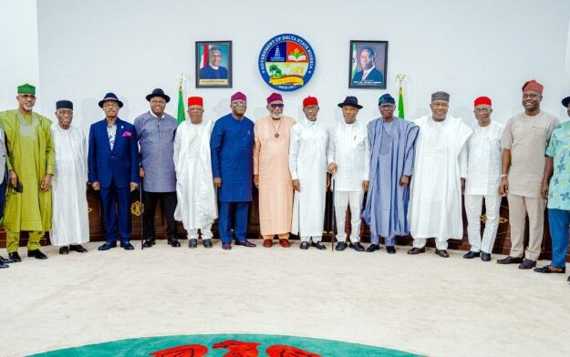 Southern governors gives condition for Nigeria's unity