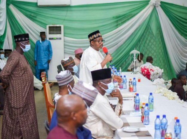 Stop the blame game, fix Nigeria's problems – Gov. Mohammed tells Buhari