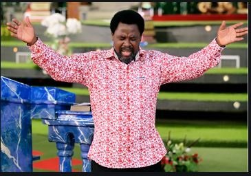 TB Joshua Holds 'Moment Of Silence' Over The Death Of Pastor Adeboye's Son