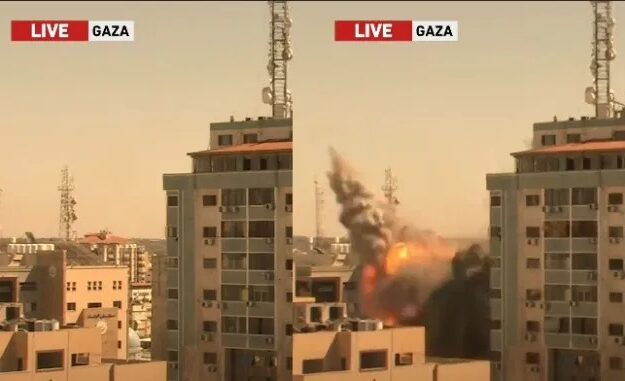 Why we demolished building housing Al Jazeera, other media houses in Gaza – Israel