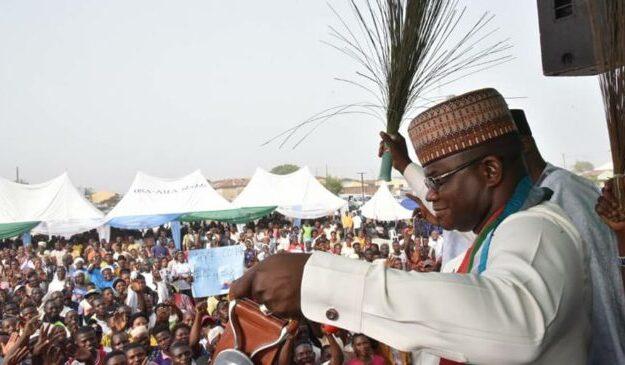 Yahaya Bello: Obasanjo, Buhari, Atiku have failed Nigerians