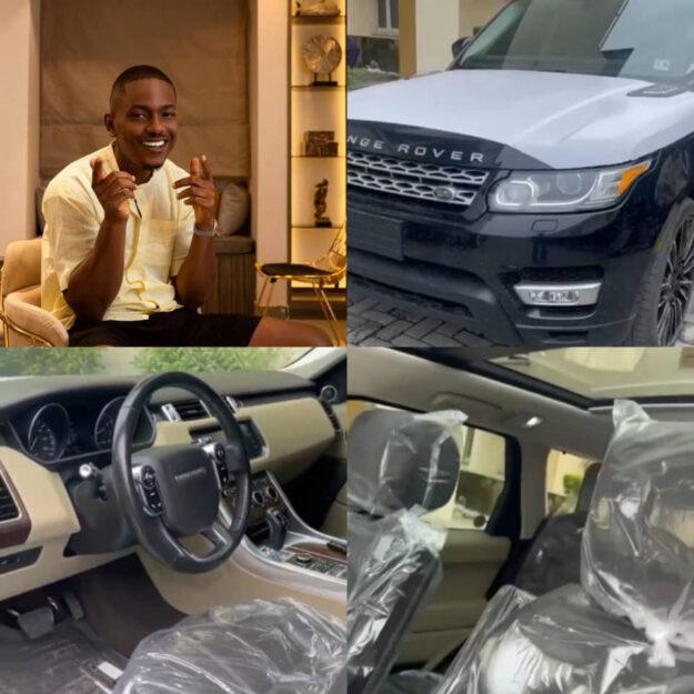 Actor, Timini Egbuson Acquires Brand New Range Rover As Birthday Gift (Video)