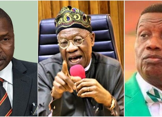 AGF Malami Will Prosecute Pastor Adeboye, Others Who Defied Twitter Ban – Lai Mohammed