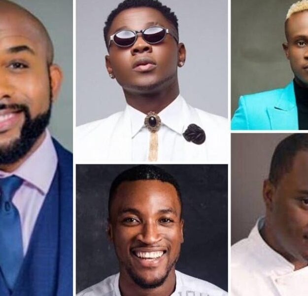 Banky W, Kizz Daniel, Others Celebrate Father's Day For First Time