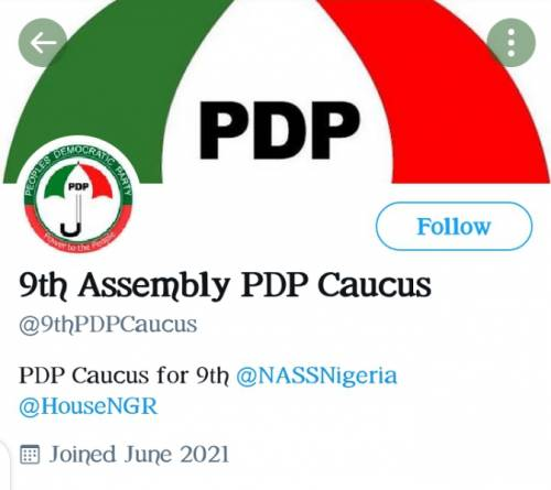 Breaking: PDP lawmakers challenge Buhari, open Twitter account after staging walkout on Tuesday