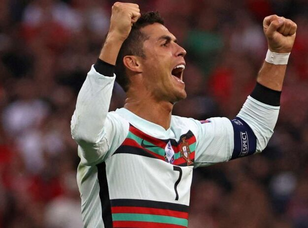 BREAKING: See how the world 'stood still' to celebrate Ronaldo as he defies age to set yet another football record