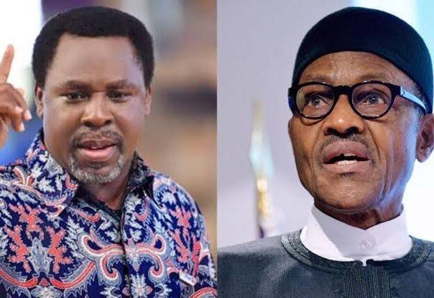 Buhari mourns Pastor TB Joshua