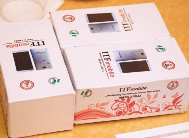 Buhari receives Nigeria-made mobile phone