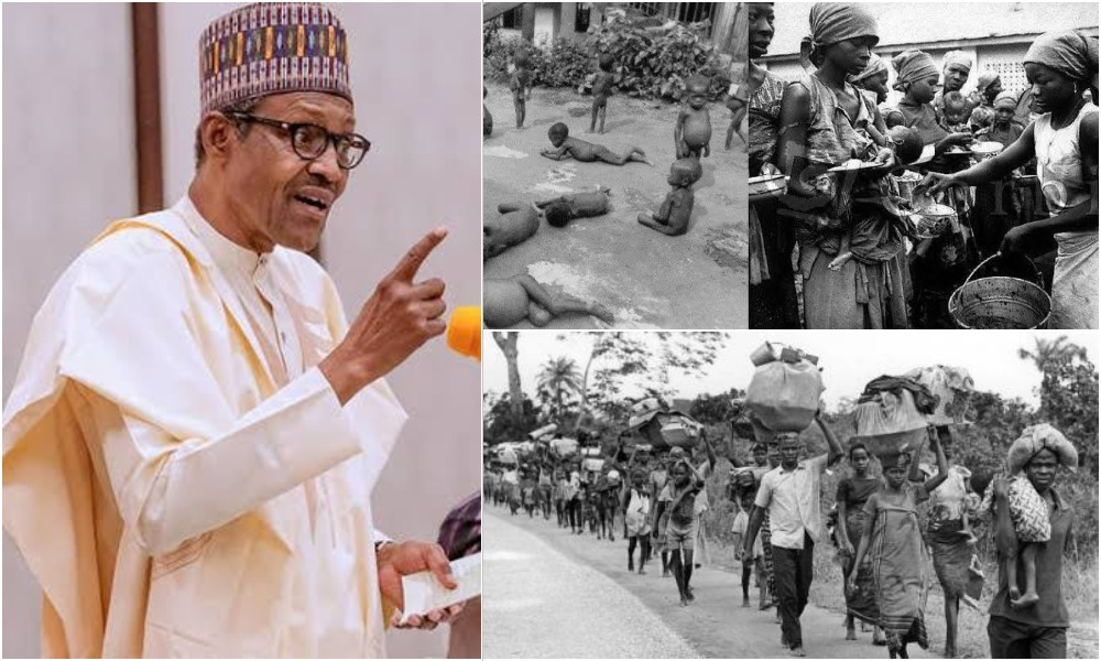 Buhari Threatens Another Genocide Against Igbo People Like During Nigerian Civil War 1