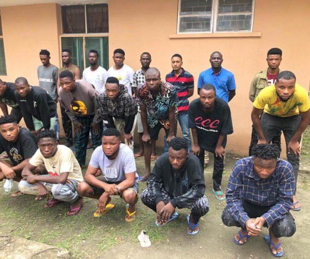EFCC Arrests 44 Suspected Internet Fraudsters in Lagos