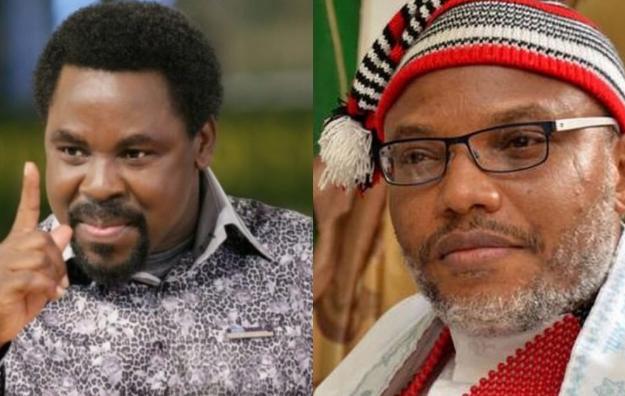 God told me TB Joshua in hellfire, Nnamdi Kanu may die soon – Pastor Peters