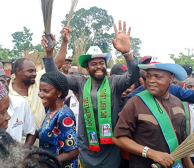 Goodluck Jonathan's son-in-law defects to APC [PHOTOS]