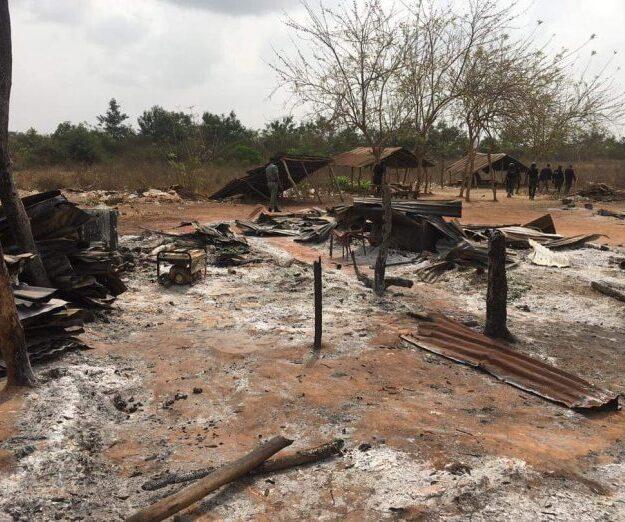 Hoodlums raze Fulani community in Ibadan