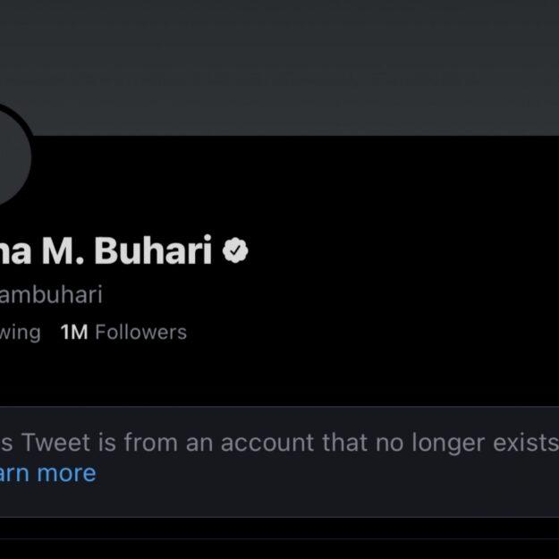 JUST IN: Aisha Buhari Deactivates Twitter Account