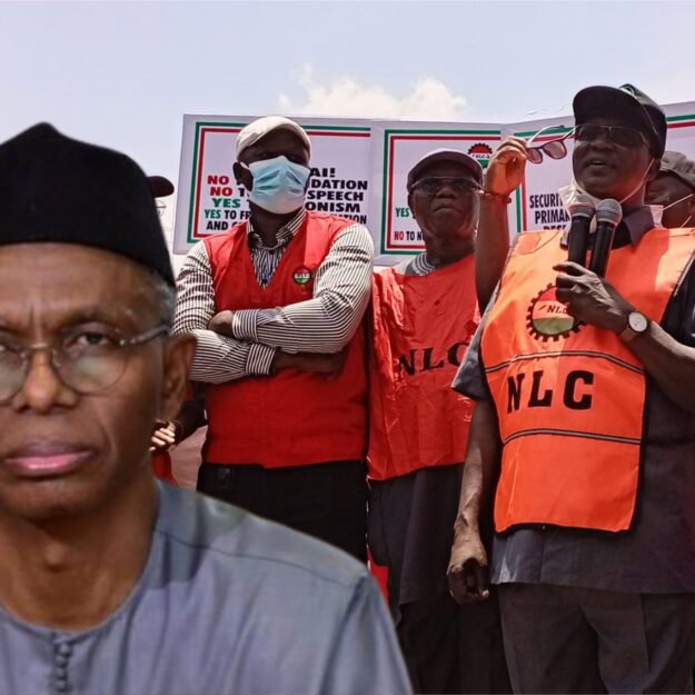 Just In: NLC to resume showdown in Kaduna as negotiation with El-Rufai suffers setback