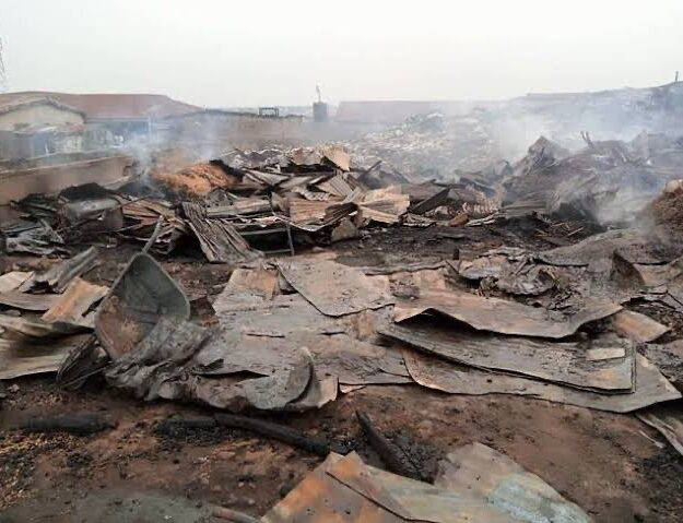 Late-night Market Inferno Burnt 70 Cattle To Ashes In Kwara
