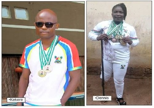 Meet The Disabled Nigerian Athletes Who Are Breaking Barriers To Conquer (Photo)