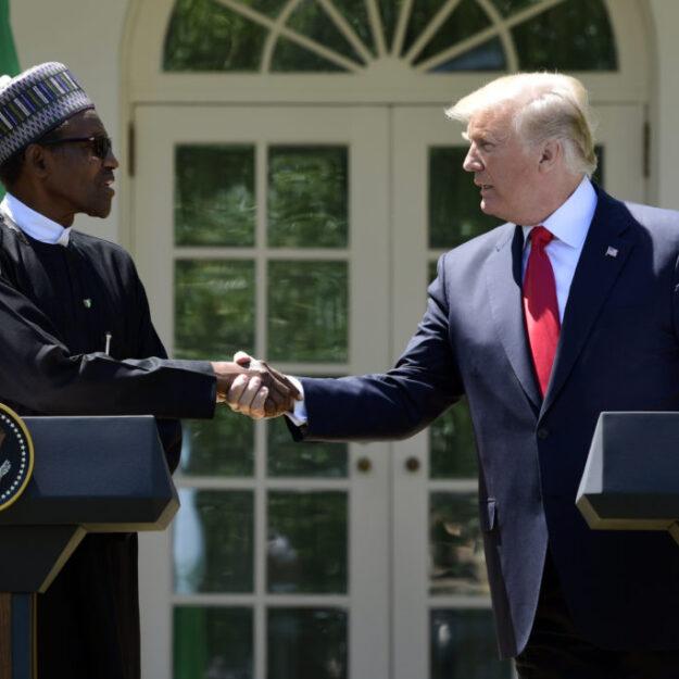Nigeria Twitter ban: Donald Trump congratulates Buhari
