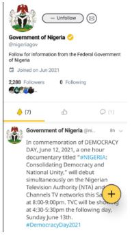 Nigerian Government Joins Indian-Owned Microblogging Platform, Koo