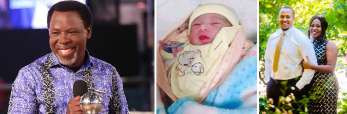 Nigerians claim TB Joshua is back as daughter gives birth on his birthday 1