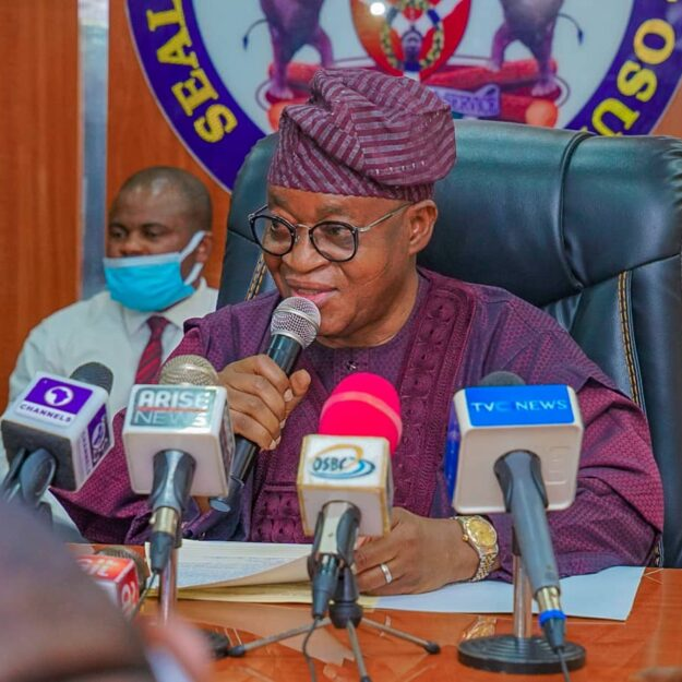 NIPSS To Osun Electorate: Save Your Future, Return Oyetola For Second Term