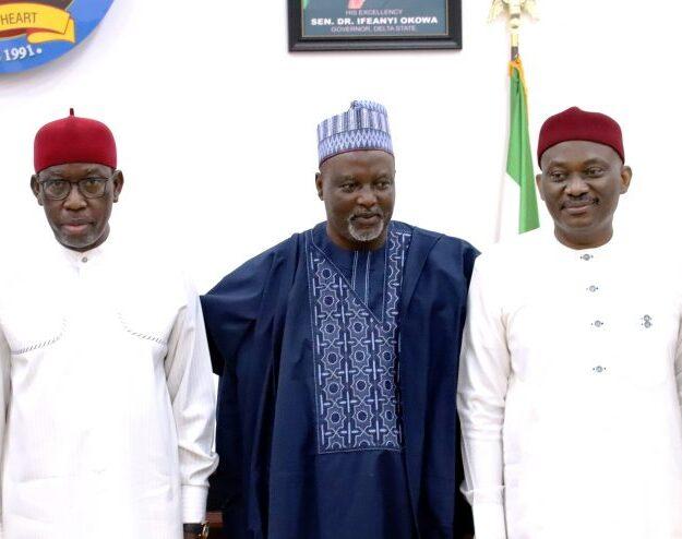 Okowa advocates devolution of powers to states