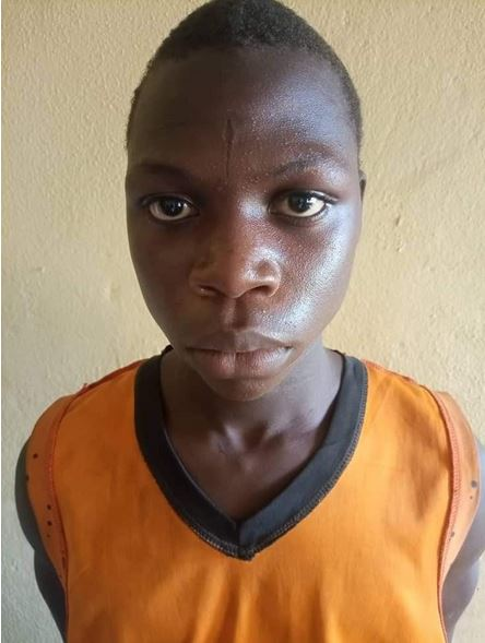 Police Arrest Teenager For Defiling Neighbour's 4-year-old Granddaughter In Adamawa (Photo)