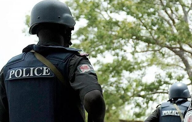 Police Save Asian Man From Being Lynched By Angry Youths After Slapping Woman In Lagos