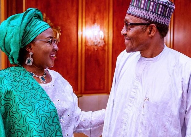 President Buhari Appoints New Aides For Wife, Aisha