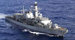 Putin's Russian forces confront British Destroyer in Black Sea