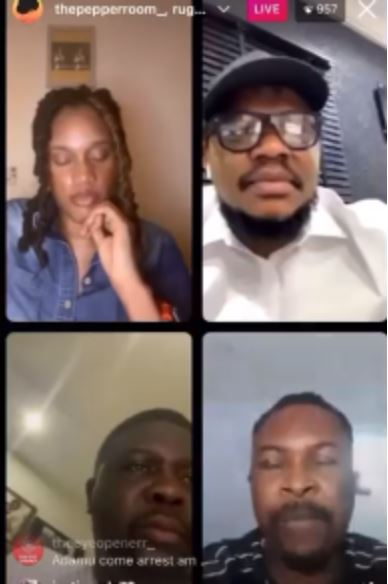 Rapper Ruggedman Blasts Ex-Presidential Aspirant, Adamu Garba On IG Live Over Comment On Twitter Ban (Video)