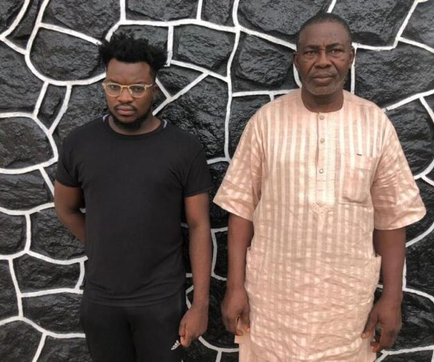 Son, Father in EFCC's Net for Alleged Internet Fraud