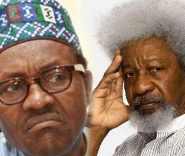 Soyinka blasts Buhari for suspending Twitter in Nigeria