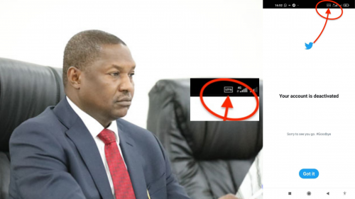 Spotted: How AGF Malami flouted FG order by using VPN to access Twitter [photo]