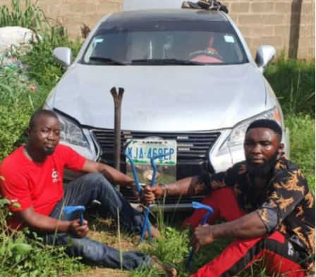 Two Arrested For Allegedly Robbing A Church In Ogun (Photo)