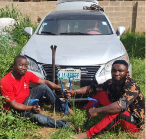 Two arrested for robbing RCCG