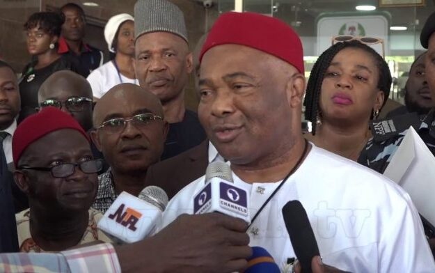 Uzodimma: Only me cannot restore security in Imo State