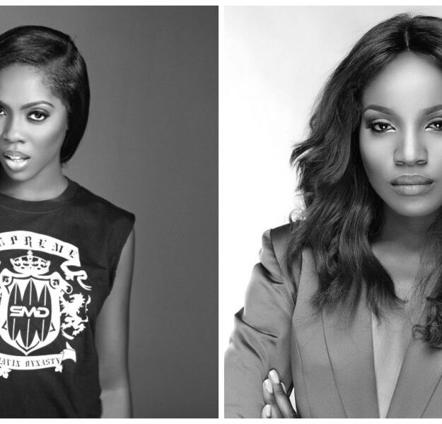 """VIDEO: """"Your Yansh Is The Dirtiest"""" – Tiwa Savage, Seyi Shay Fight Dirty In Lagos"""