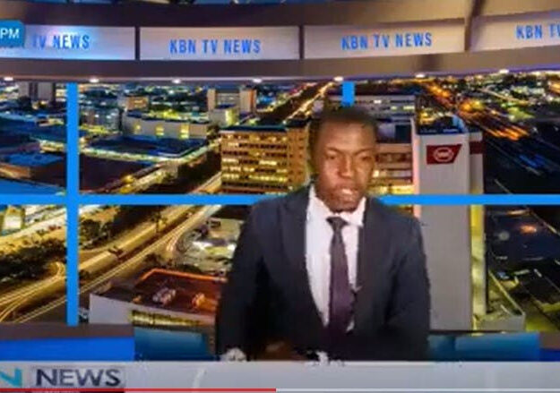 Zambian TV News Presenter Goes Off Script, Demands For His Salary During A Live News Report (Video)
