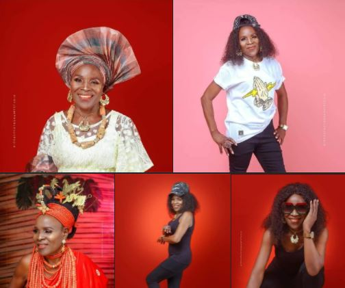 80 Year-Old Nigerian Woman Who Looks Like She's In Her 20s Celebrates Birthday In Style (Photos)