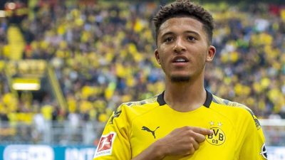 Sancho Wants Manchester United Number Seven Shirt