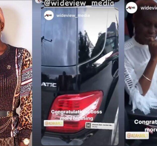 Actress, Ada Karl Buys Multi-Millions Naira Car (Photos)