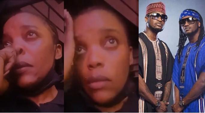 Actress Empress Njamah Cries As She Begs Peter And Paul Okoye To Reconcile [Video]