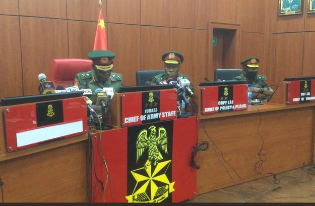Again, Nigerian Military Vows To End Banditry, Insurgency
