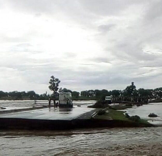 BREAKING: Two Missing, Travelers Stranded As Bridge Collapses In Bauchi