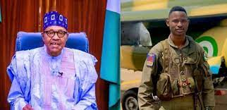 Buhari commends brave Airforce pilot for gallantry