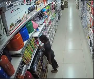 Ebeano Supermarket Fire: 9-year-old Suspect Arrested By The Police (Video)