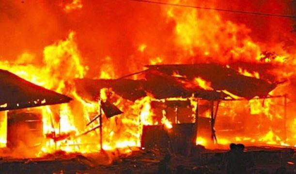 Fire Razes Departmental Building In ATBU Bauchi